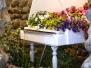 Esposizione floreale Ricetto di Candelo