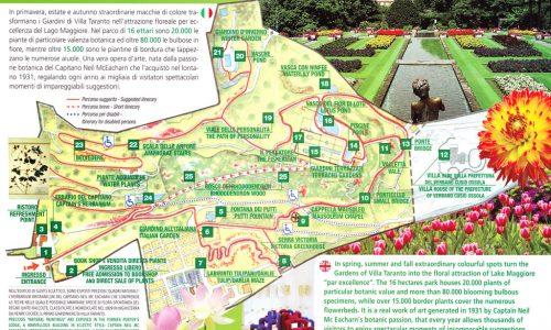 Calendario fioriture Giardini botanici di 'Villa Taranto'