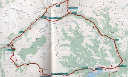 Tour motociclistico a cavallo tra Italia e Svizzera
