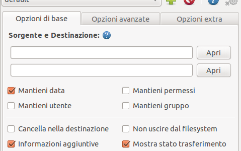 Sincronizzare file su Ubuntu